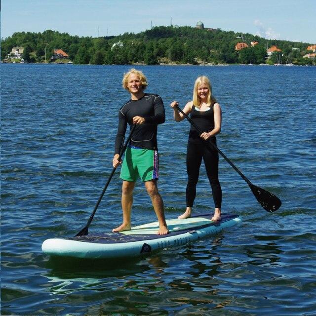 Aqua Marina 370*87*15cm Super Trip Inflatable Sup Stand Up Paddle Board Family Sup Board