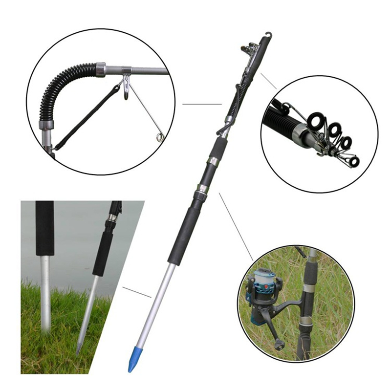 2019 New More Safe More Carp Automatic Fishing Rod fishing Telescopic rod spinning rod Sections Fishing Rod olta feeder tackle