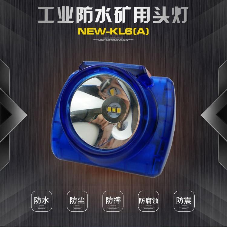 цена на Hot Sale Battery Capacity 5200-6200MAH 3W Explosion-Proof Headlamp Mining Cap Lamp New-Kl6 searchlight+ IP68 Waterproof