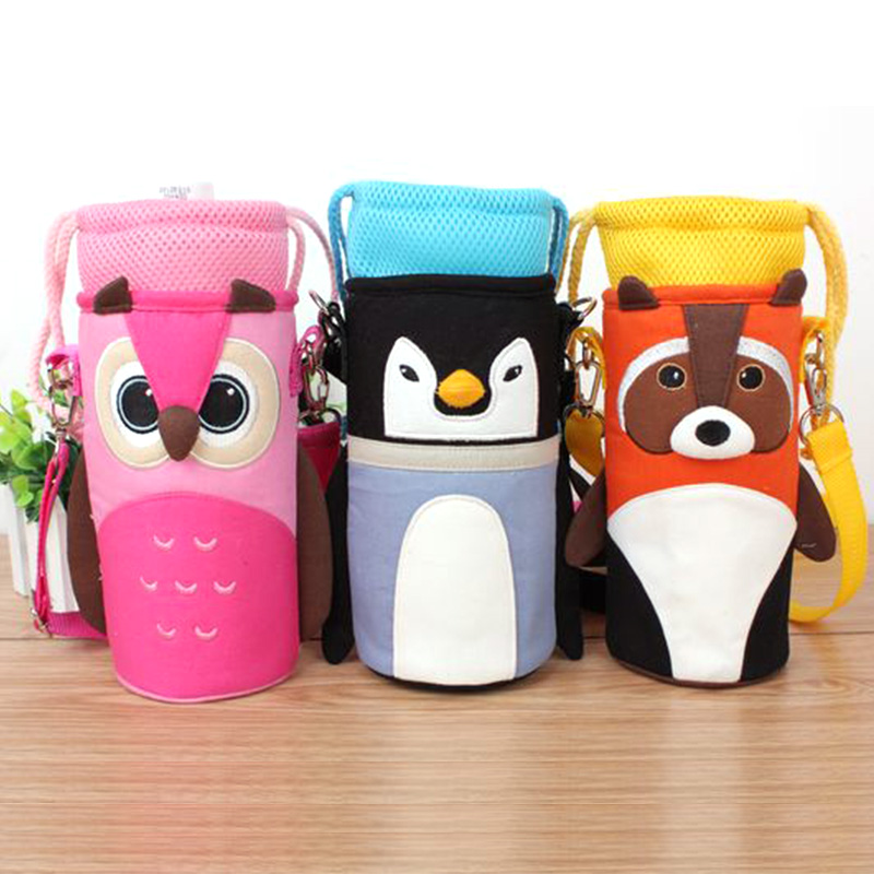 Insulation Bags Cup Sets Bottle Water Storage Messenger Bag Thermos Straw Cup Packages Feeder Warmer Cover Baby Bottle Huggers