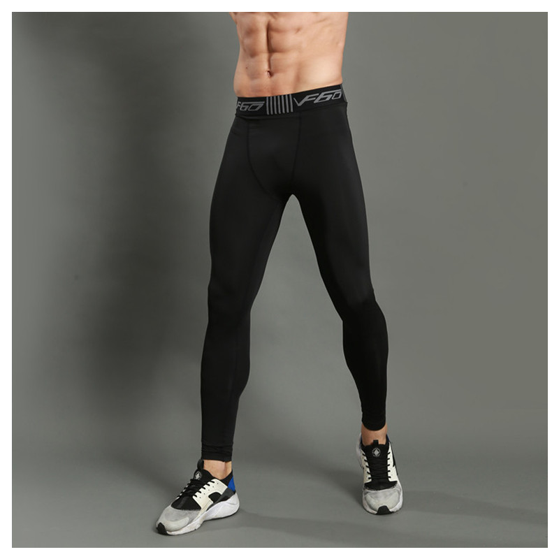 ac6a429cfd8ad Compression Pants Men Sports Running Tights Men Bodybuilding Jogging Leggings  Fitness Gym Clothing Sport Leggings Men Trousers-in Running Tights from  Sports ...