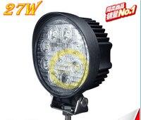 1 cái 27 wát mô hình siêu mỏng của 12 v và 24 v LED công việc nhẹ Máy Xúc ánh sáng dự án ánh sáng Xuyên quốc gia xe đèn