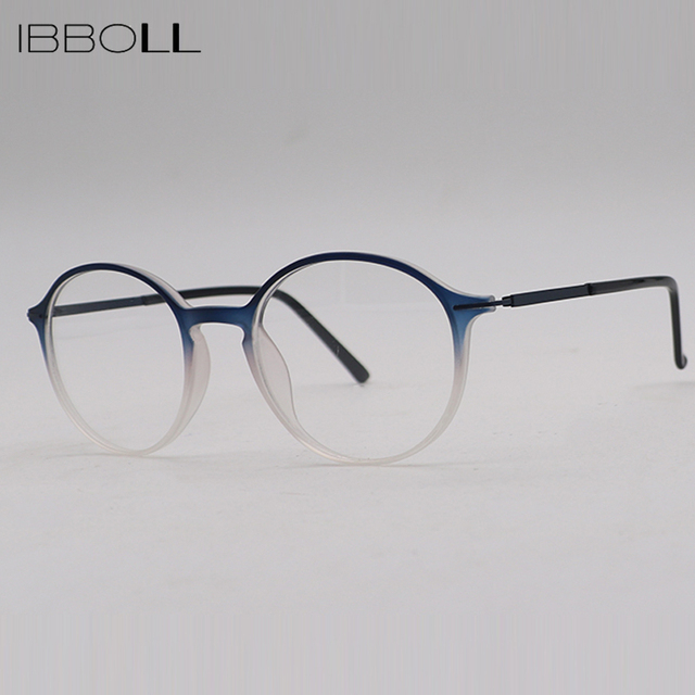Aliexpress.com : Buy ibboll Women Classic Round Optical Glasses ...