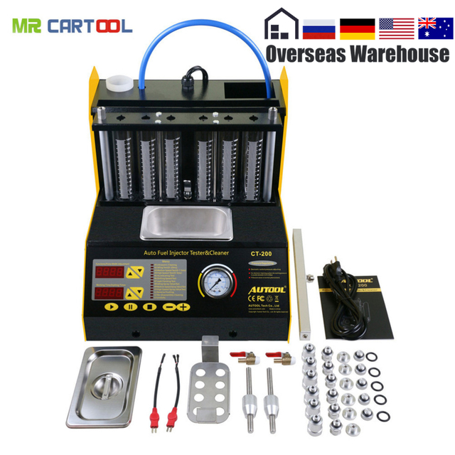 Autool ct200 auto fuel injector cleaner tester 6 cylinders fuel autool ct200 auto fuel injector cleaner tester 6 cylinders fuel injector cleaning machine ct 200 solutioingenieria Image collections