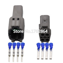 где купить 4 Pin 1.5 Series  Automotive Connectors Waterproof connector plastic With terminal DJ7044C-1.5-11 / 21 4P дешево