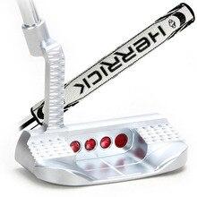 Golf putter clubs hommes coloré CNC 33 34 35 pouces poignée couleur en option avec couvre chef