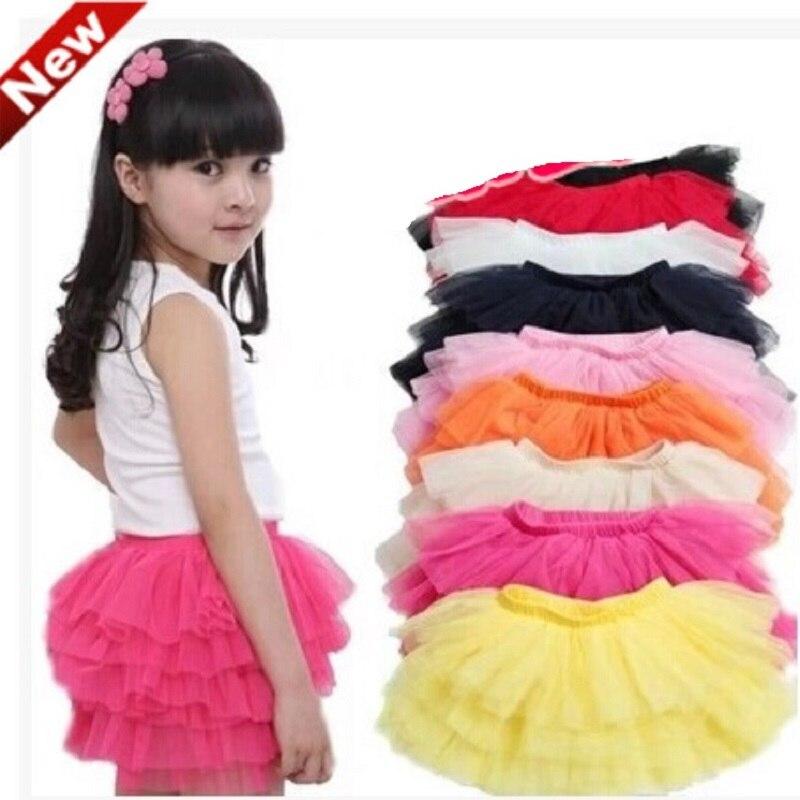 Hooyi Boutique Store Girls skirts kids Tutu Skirt layers Underskirt RARA Pouf Skirts children ballet short skirt All For Children Clothes Accessories