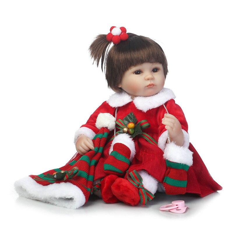 Bebe Reborn 40 см Силиконовая Кукла Reborn мягкая Боди для детей Playmate подарок для девочек boneca reborn мужские игрушки для рождественского подарка