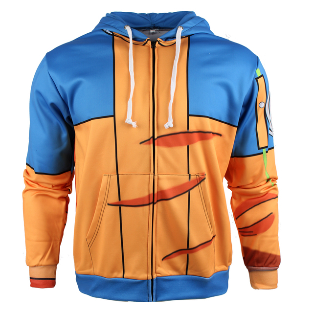 Anime 3d Printed Naruto Zipper Hoodies