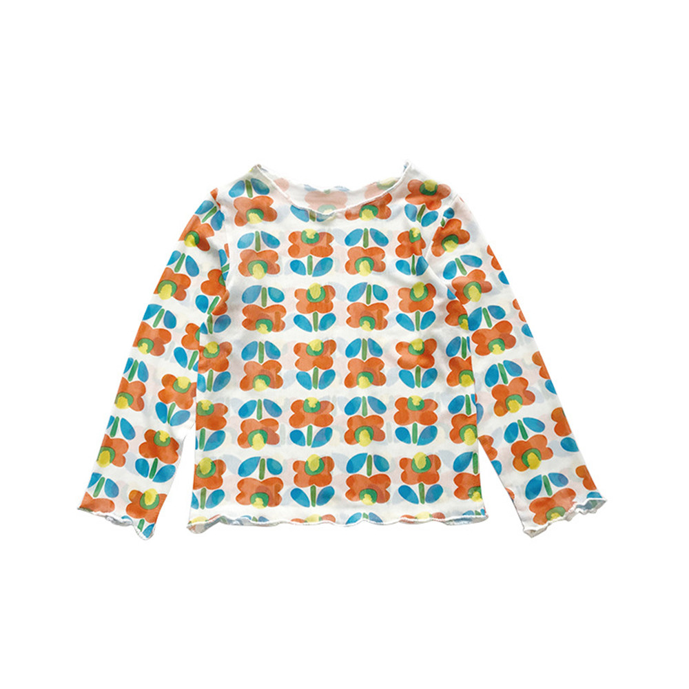 Children Clothing Tops Sunscreen-Shirt Boys Tees Baby-Girls Kids Fashion Long-Sleeved