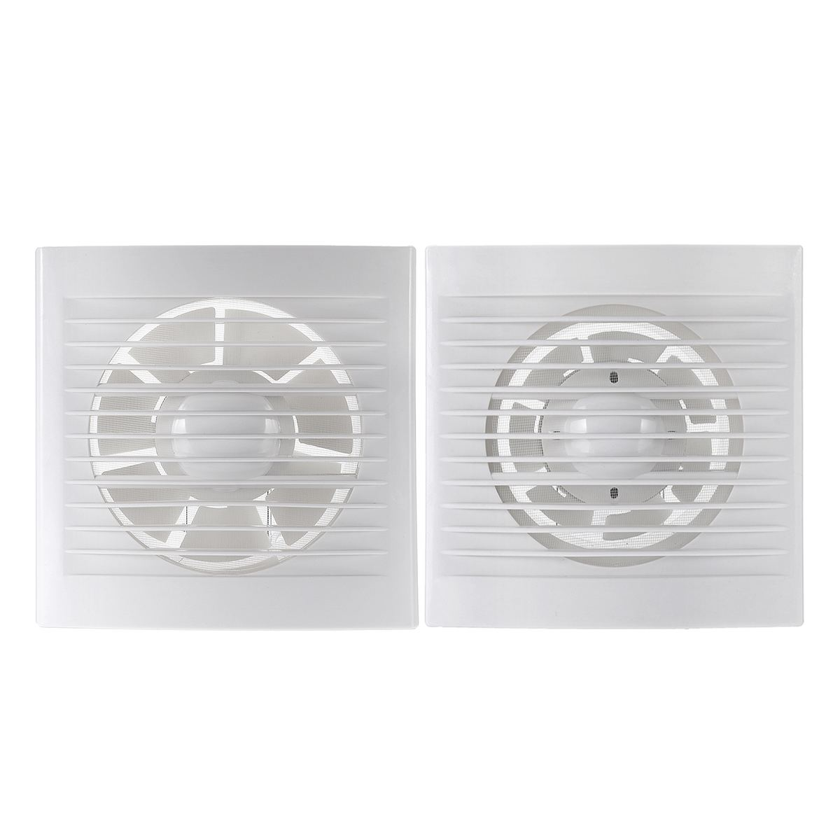 12W 220V 4/6'' Exhaust Fan Wall Mounted Bathroom Toilets Ventilation Fans Low Noise Extractor