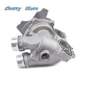Image 3 - NEW 06H 121 026 DD Aluminum Water Pump Upgrade For Audi A4 A6 Q3 Q5 VW Passat Golf Jetta Tiguan Seat Skoda 2.0TFSI 06H121026CQ