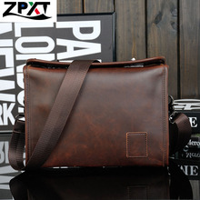 2016 Men's Briefcase Business Shoulder Leather Bag Men Messenger Bags Handbag Leather Faux Leather Bags Wholesale