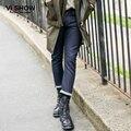 VIISHOW Знаменитый Бренд Джинсы Для Мужчин Брюки Мужской Моды Тонкий джинсовые черные Джинсы мужские Отверстие Джинсы Мужские Классические Джинсы тонкий homme