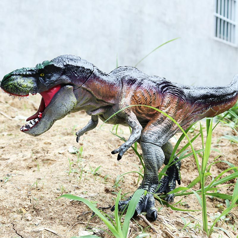 25 Styles Action Figures Jurassic Tyrannosauru Dragon Dinosaur Toys Plastic Doll Animal Collectible Model Furnishing Toy Gift F3 in Action Toy Figures from Toys Hobbies