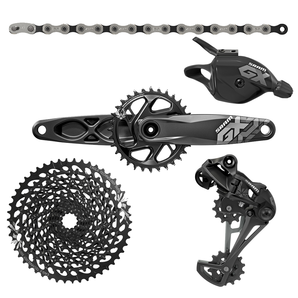 sunture sram gx  eagle  groupset GXP 12speed Bicycle Derailleur MTB bicycle bike groupsets 10-50T XD Cassette sram xx1 x9 xo gxp bb30
