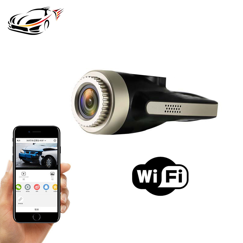 Maustor Mini Wireless Hidden Car Dash Cam Wifi Camera Video