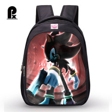 Student Sonic The Hedgehog Cartoon Backpack Boy School Bags Cute for and Girl Mochila Sac A Dos