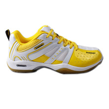 2017 Newest women's authentic badminton shoes wearable rubber sole sports shoes for men