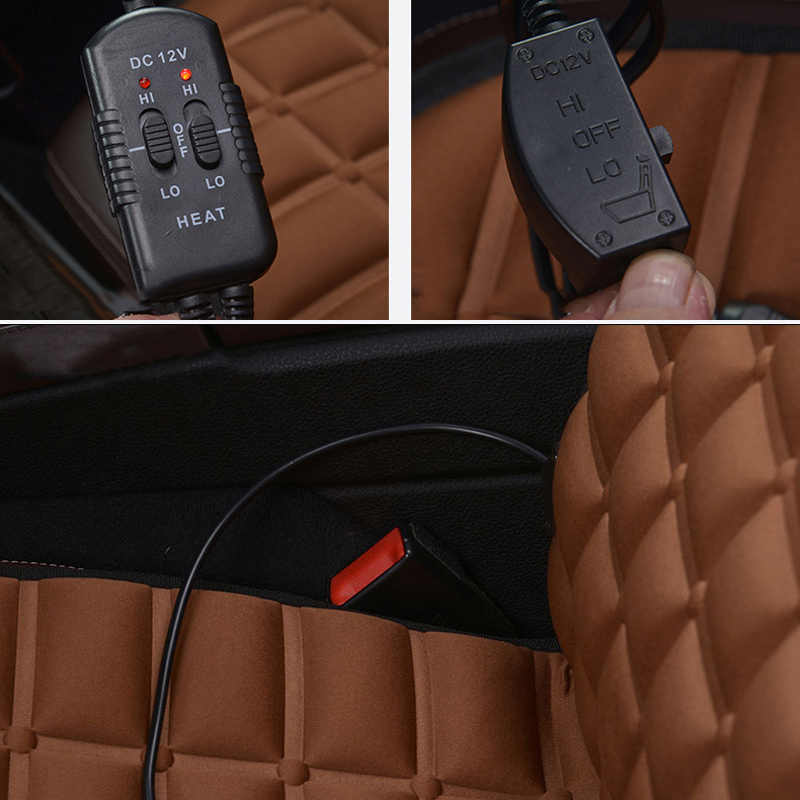 Auto seat cover verwarming auto accessoire voor Honda HR-V hrv insight JAZZ legend pilot spirior stream saab 9-3 9-5 uaz patriot