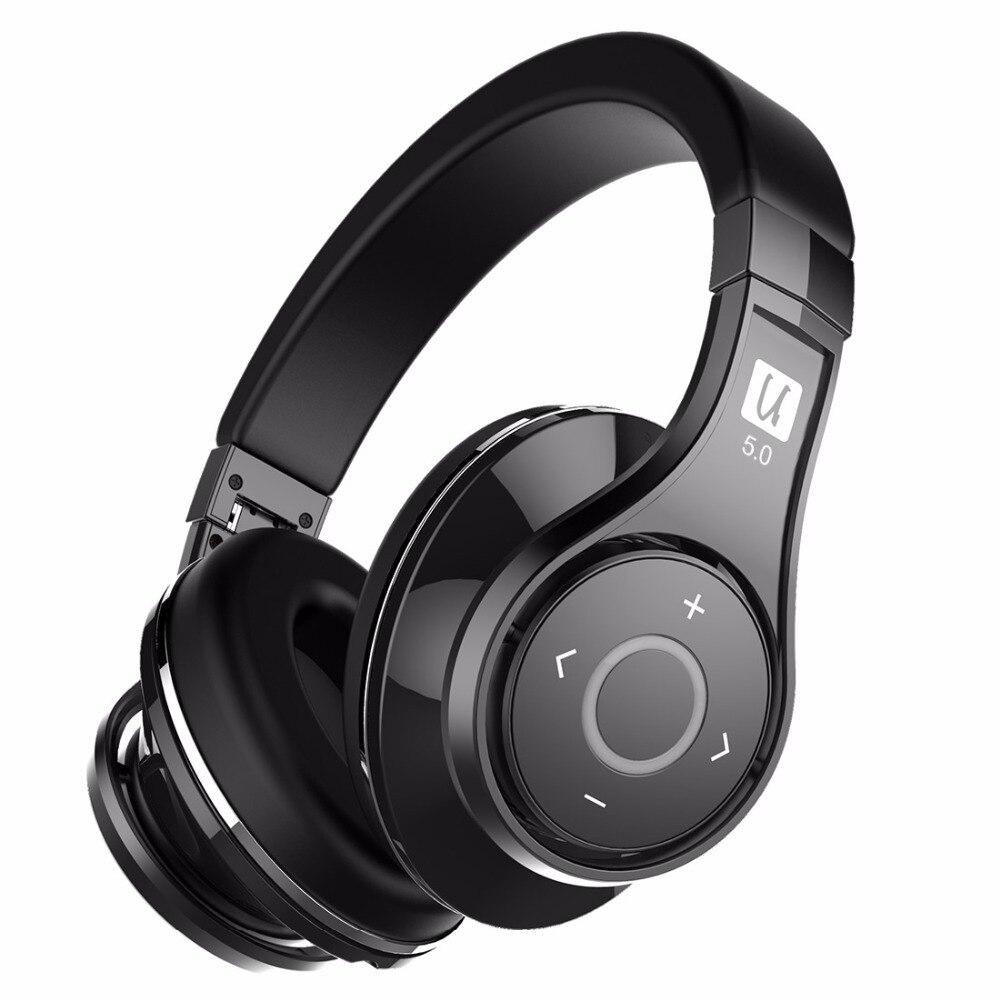 Bluedio U (UFO) 2 High-End cuffie Bluetooth Brevettato 8 Driver HiFi auricolare senza fili supportati APTX e Controllo vocale