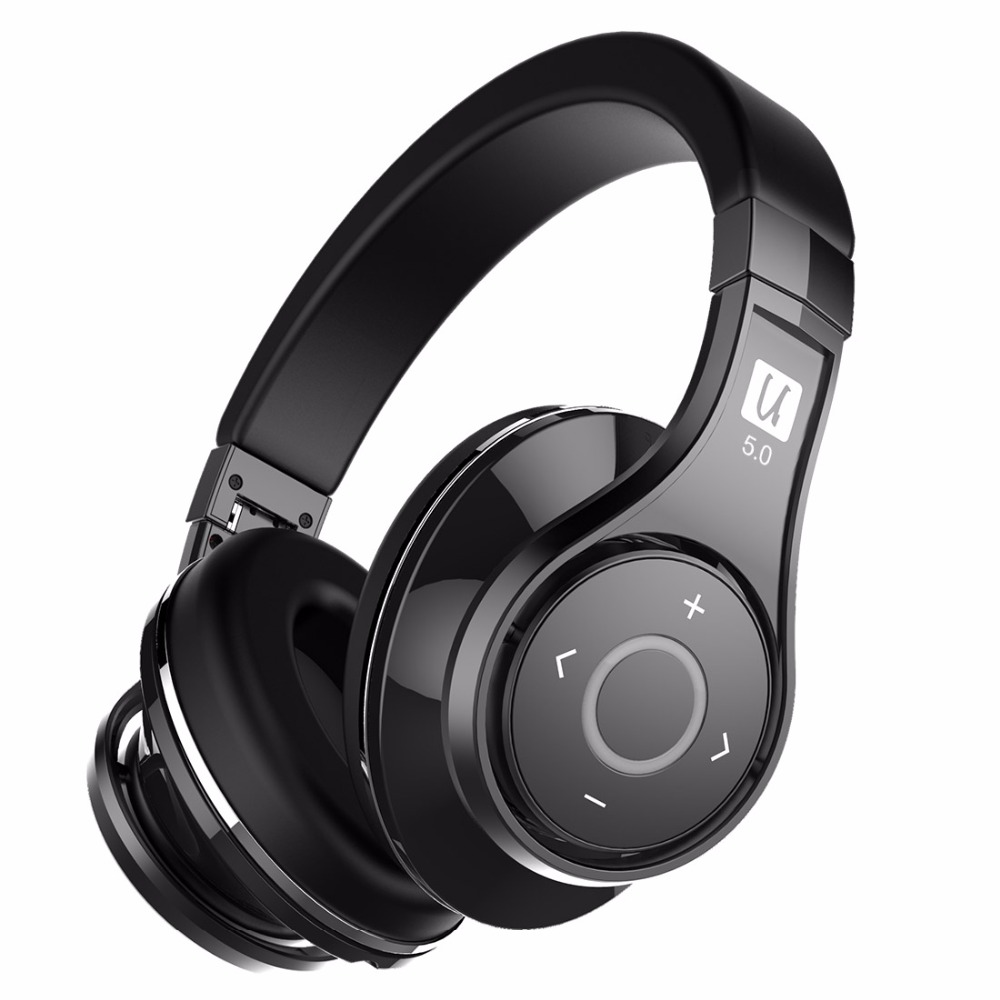 Bluedio U(UFO)2 High-End Bluetooth headphone Patented 8 Drivers HiFi wireless headset supported APTX and Voice Control