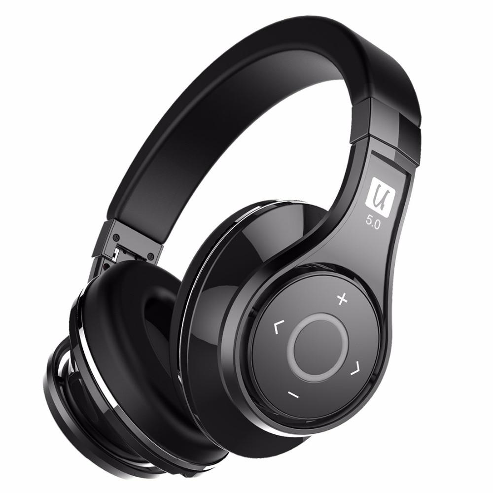 Bluedio U (UFO) 2 High-End Bluetooth kopfhörer Patentierte 8 Treiber HiFi drahtlose headset unterstützt APTX und Sprachsteuerung