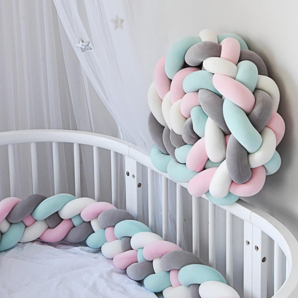 Baby Bed Kussen Wieg Bumper Geweven Bed Frame Bescherming Wieg Bed Cover Groothandel & Dropshipping Travesseiro Travesseiro #30 Comfortabel Gevoel