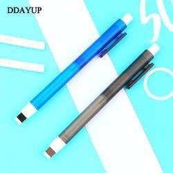 Ластик механический ластик тщательная подсветка многоразовая Ручка Форма резиновый пресс тип эскиз рисунок ластик для школы канцелярские
