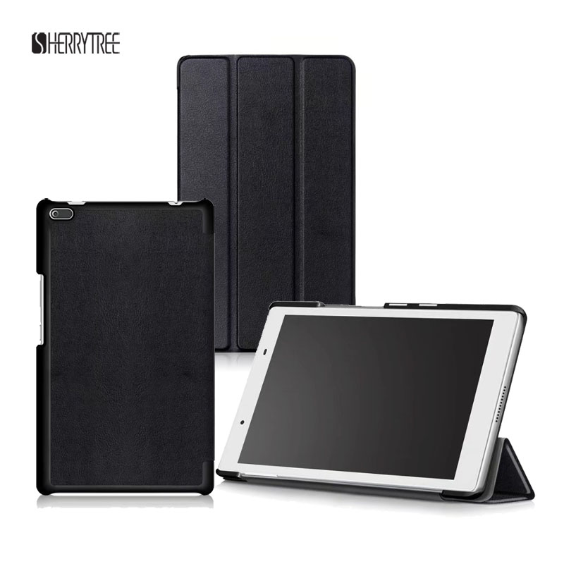 20PCS Lot Luxury Slim Folding Stand PU Case For Lenovo Tab 4 8 TB 8504F N