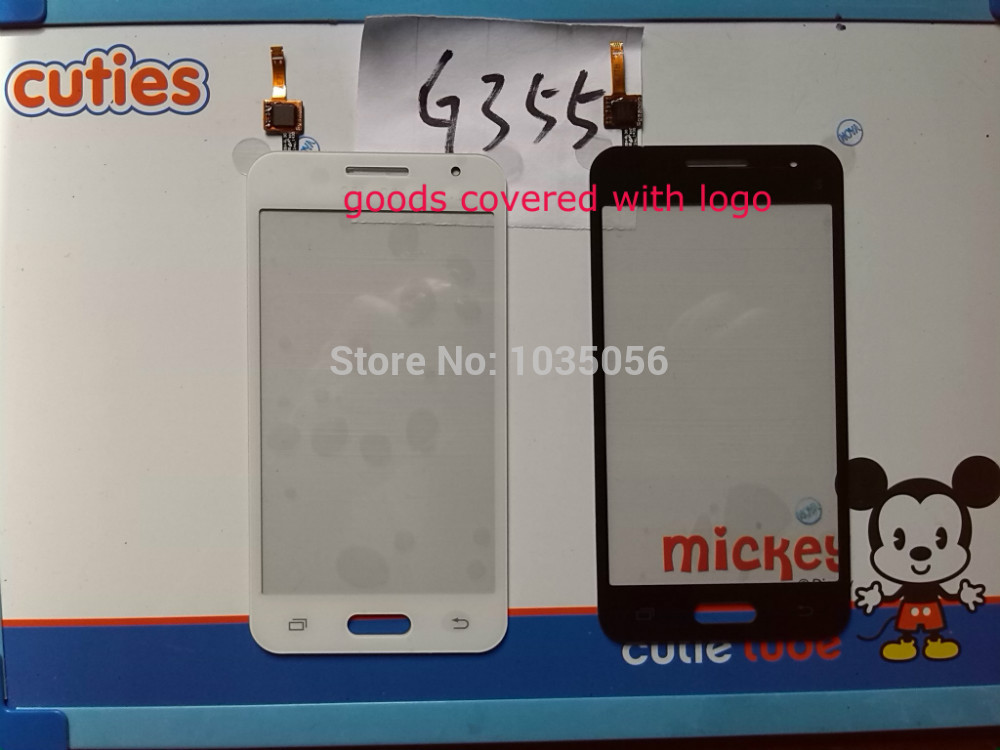 G355H Sensor Replacement Parts For Samsung Core 2 G355 Outer Touch Screen Digitizer Panel ; With Tracking Number