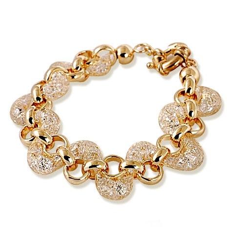 2018 Hot Sale Rose Gold Bracelets Bangles for Women Wire Zircon