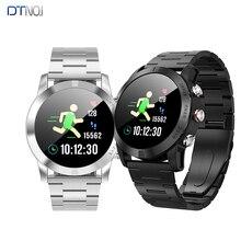DTNO. Я S10 Смарт-часы Bluetooth4.2 IP68 Водонепроницаемый Nordic NRF52832QFAA монитор сердечного ритма Сидячий напоминание Smartwatch