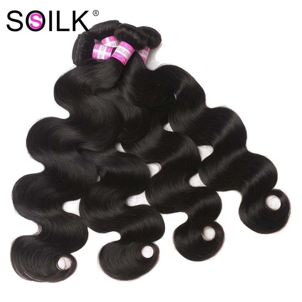 Transpirable Peruano Body Wave Hair 8-30 Pulgadas 4 Bundles Deals - Cabello humano (negro)