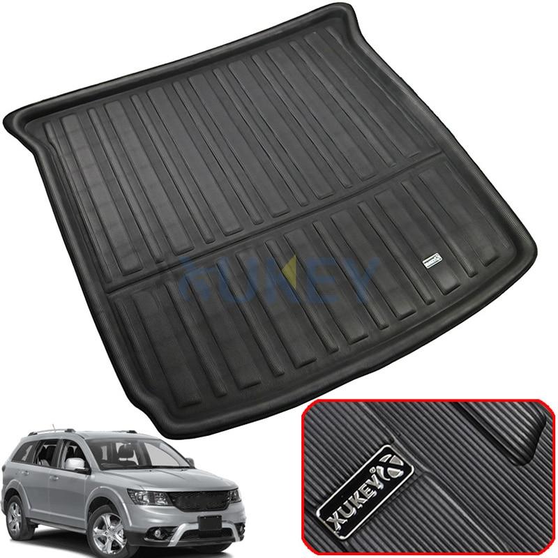 Car Trunk Liner Cargo Mat Tray Car Boot Pad For Nissan Tiida Versa 2011-2018