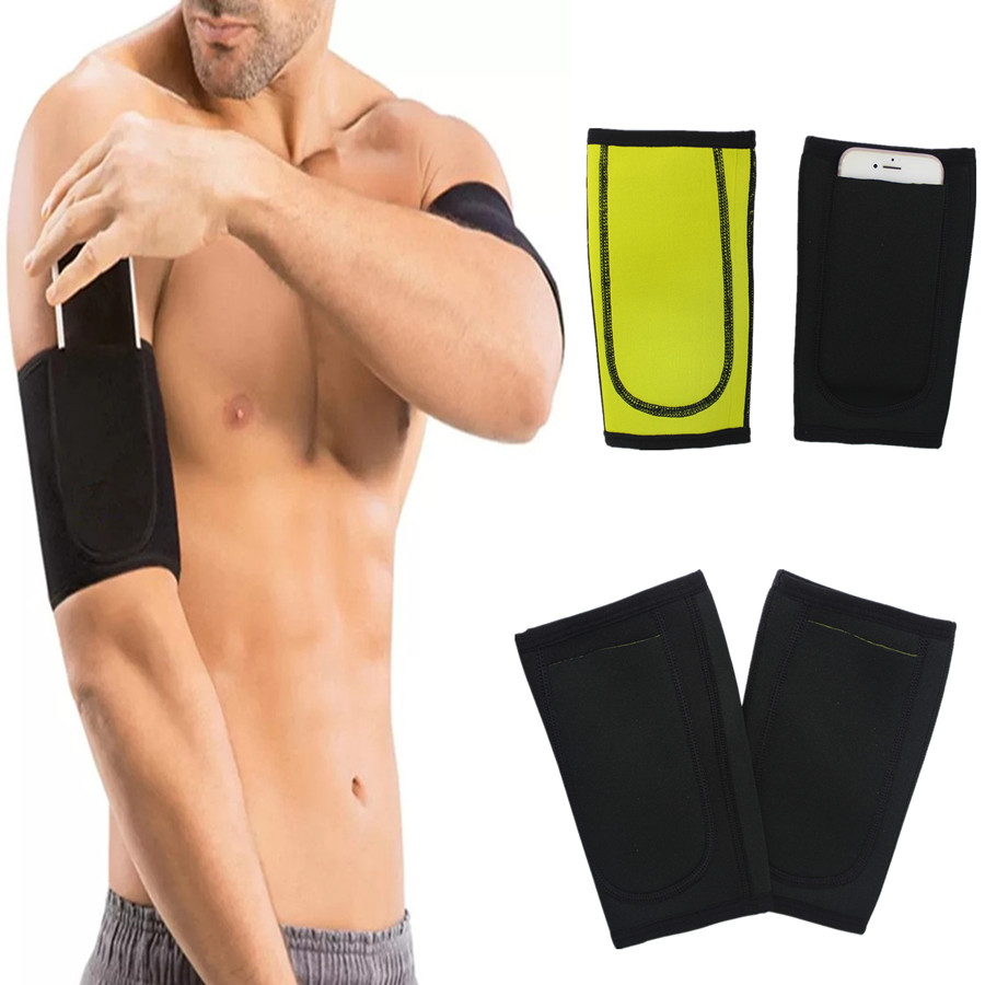 Slimming Arm Warmers Shaper 1 Pair Sleeves Compression Fitness Sweat Sauna Body Shapers Arm Sleeve Trainer Shapewear Weight Loss