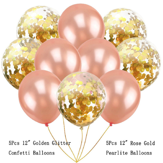 HOT10pcs Round Latex Helium Balloons Multi Color Balloon Combinations Happy Birthday Party Table Decorations Air Wedding