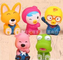 5pcs/lot New Arrival Pororo PVC Figures 6pcs Set Action Toy Figures Mini Doll