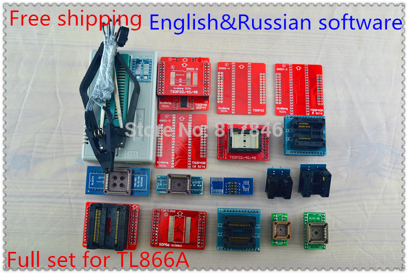 2018 V8.05 TL866II Plus+20items PIC BIOS USB Universal Programmer IC SPI Flash NAND EEPROM MCU AVR better than TL866A/TL866cs все цены