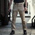 IX7 Передач Военная Городской Тактические Брюки Мужчины Весна Хлопок Армия Брюки-Карго Случайные На Открытом Воздухе SWAT Полиция Солдат Боевые Брюки