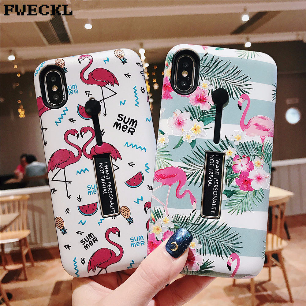 Retro Floral Flamingo victoria secret Phone case For