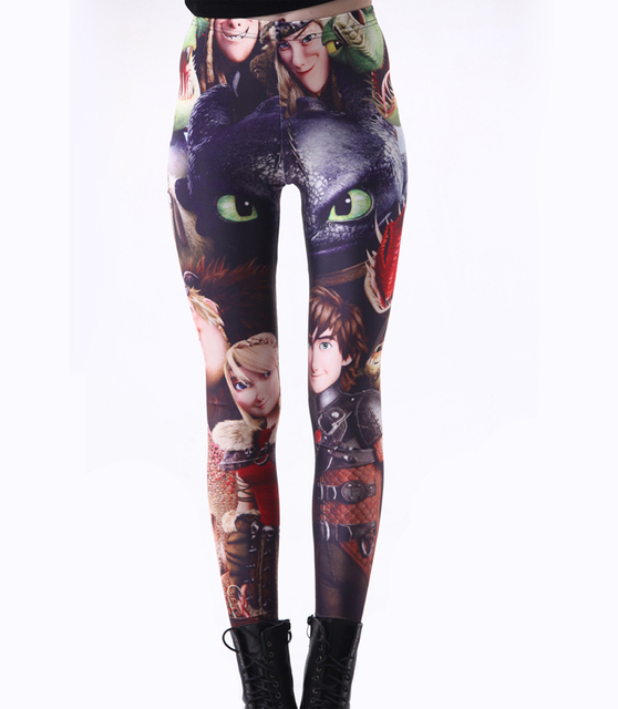 How to Train Your Dragon 3D prints Leggings