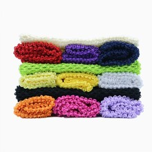 10 Inches 23*25cm 16 Color TuTu Tube Elastic Wrapped Chest Knit Lined Crochet For Girl DIY Dress Princess Party Costume