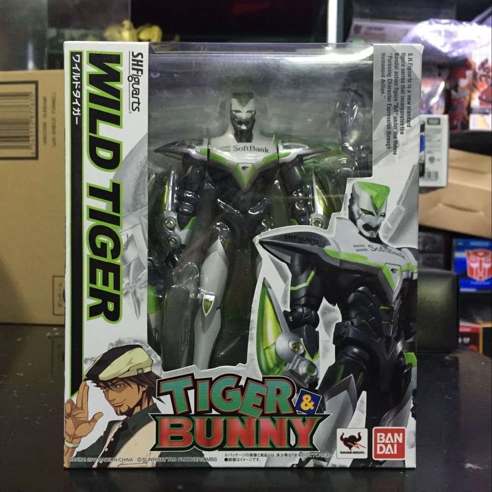 PrettyAngel Genuine Bandai Tamashii Nations S H Figuarts Tiger Bunny Wild Tiger Action Figure