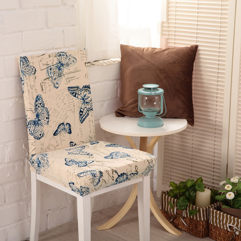 Aliexpresscom Buy 18 Colors Stretch Printed Dining Chair Covers