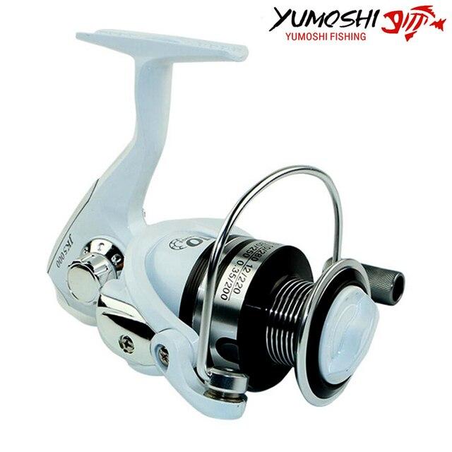 Cheap Hot Wheels Fish Spinning Reel 10BB 1000-7000series Baitcasting Fishing Reel Sea molinete pesca Wheel China Fishing Accessories