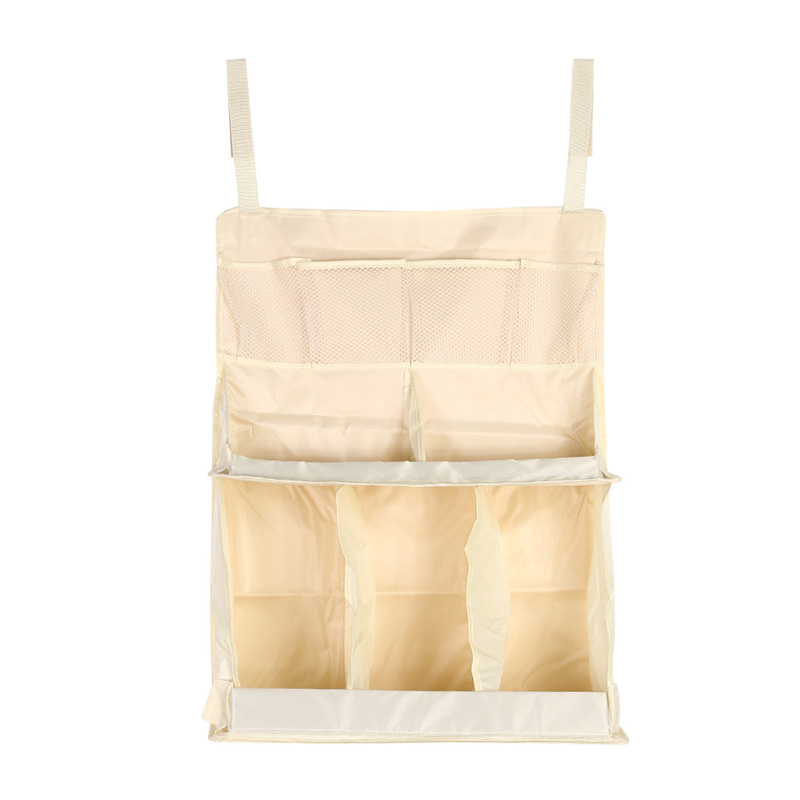 Waterproof Diapers Organizer Baby Bed Hanging Bag Portable Storage Bedding Baby Cradle Hanging Organizer 63 48