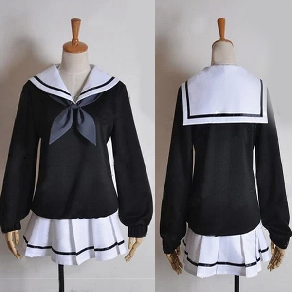 Newjapanese Anime Cosplay Costume Full Set School Girl -7753