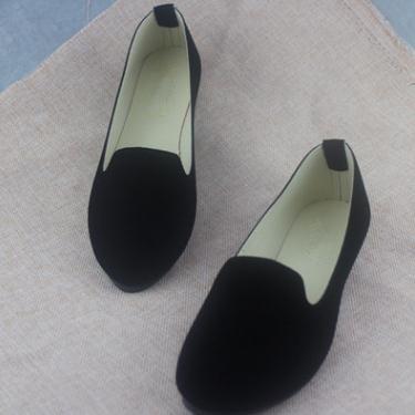 Plus Size Shoes Women Solid Candy Color Patent PU tip Shoes Women Flats Ballet Casual