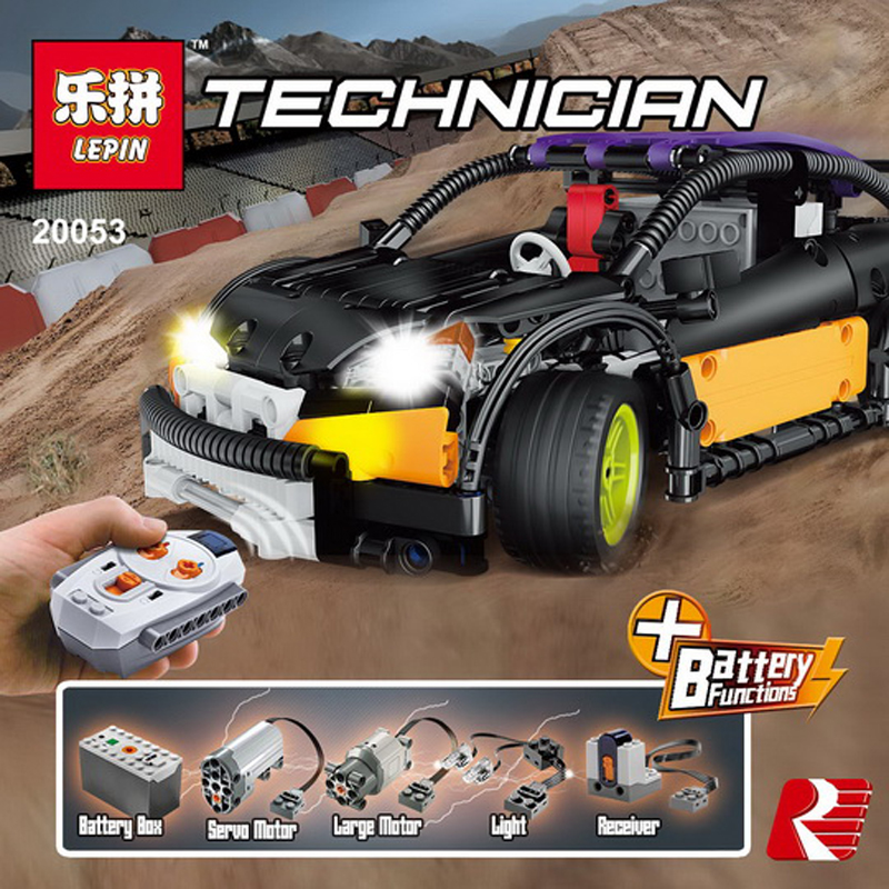 In Stock Lepin Sets 20053 640Pcs Technic Figures Hatchback Type R MOC-6604 Model Building Kits Blocks Bricks Educational Kid Toy